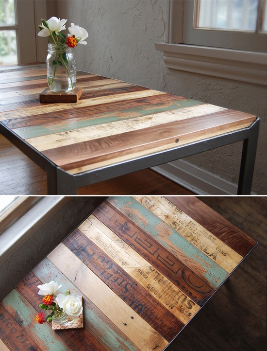 Recycled Wood Pallets Idea | Floormonster News